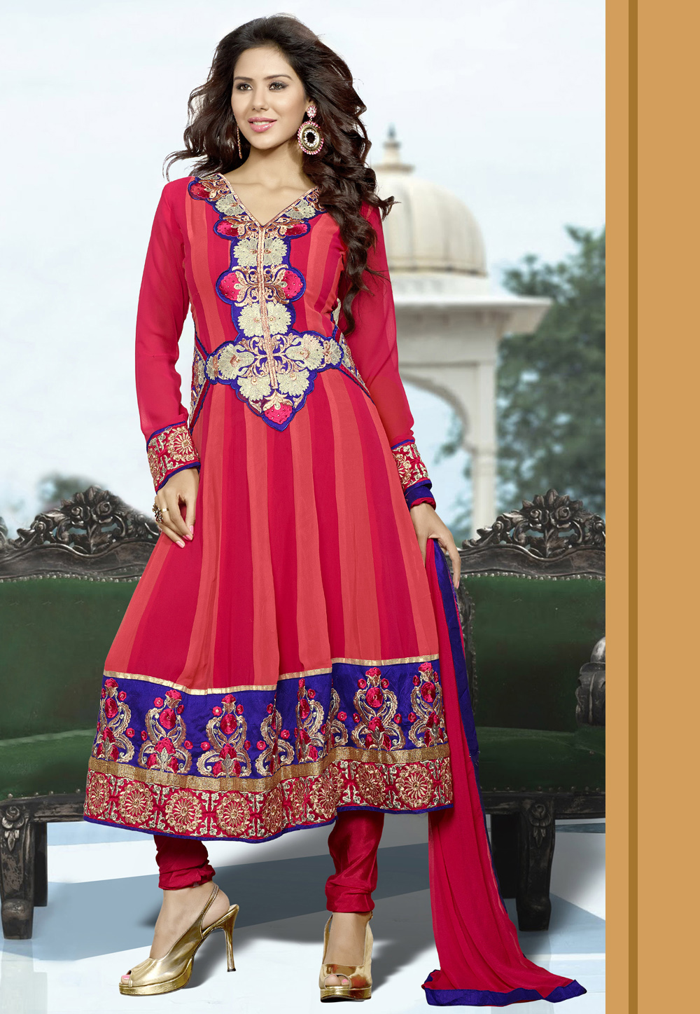Indian Fashion Churidar Suits Designs Collection 2015 16: Traditional Indian Fashionヅ ツ ッ